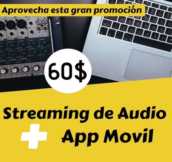 Promoción Streaming de Audio HD